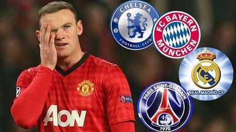 Đâu sẽ là điểm đến mới của Wayne Rooney?