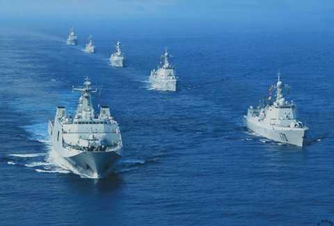 Tàu chiến của hải quân Trung Quốc