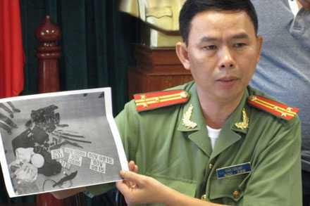 Thượng tá Trần Tiến Đạt cho biết: Điệp là một đối tượng cực kỳ nguy hiểm.