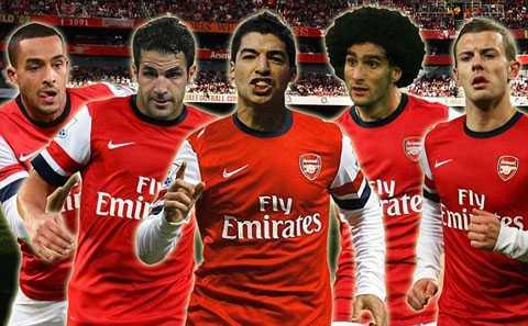 Đội hình siêu khủng của Arsenal mùa tới?