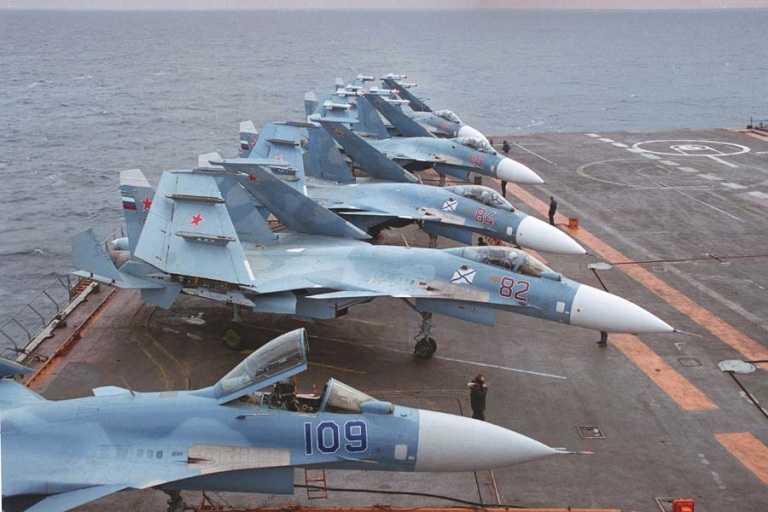 Su-33 đã không còn sử dụng trên tàu sân bay của Hải quân Nga