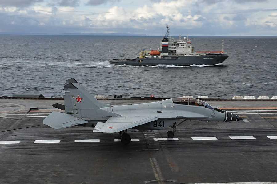 MiG-29K, chiến cơ dành cho tàu sân bay hiện nay của Hải quân Nga