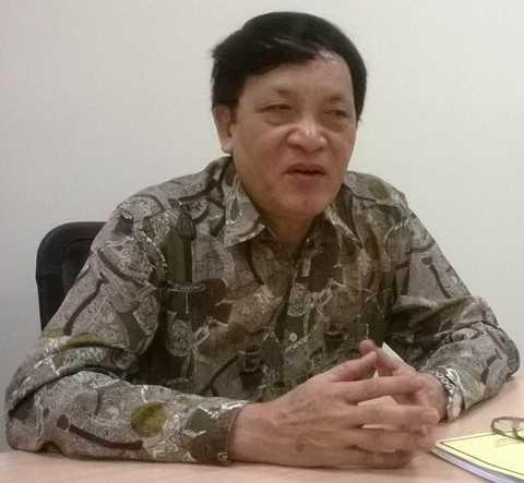 Nhà báo Nguyễn Đăng Phát, cựu Trưởng phân xã Thông tấn xã Việt Nam tại Nga - Ảnh: Tùng Đinh