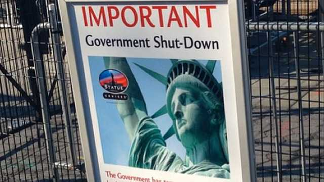 Sự kiện Chính phủ đóng cửa ảnh hưởng nặng nề đến toàn bộ nước Mỹ