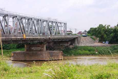 Cầu Đuống nơi xảy ra sự việc thương tâm.