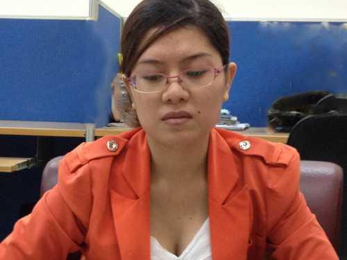 Thai phụ tố Phi Thanh Vân không ngại lộ diện.