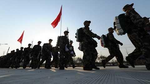 Binh lính Trung Quốc - Ảnh: RT