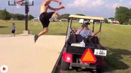 Những tai nạn hài hước trong môn thể thao golf. >> Xem Clip