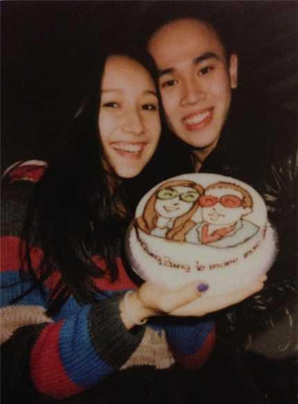 Anna Trương và người yêu