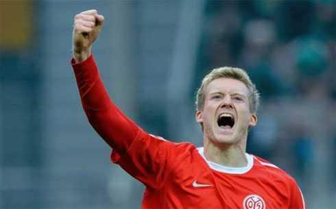Schurrle, kỉ lục gia của Mainz 05.