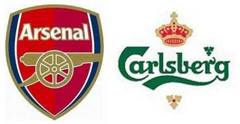 Carlsberg là đối tác của Arsenal kể từ năm 2011.