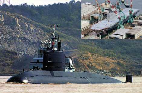 Đài Loan khuyên Trung Quốc dùng tàu ngầm đối phó với tàu khu trục chở trực thăng JDS Izumo