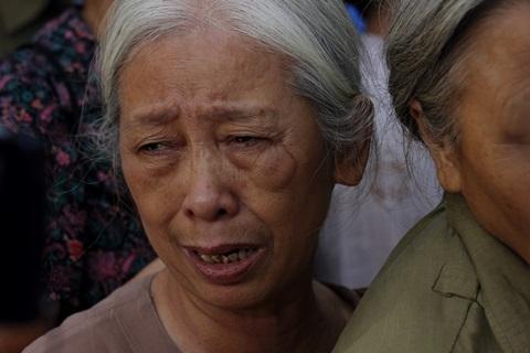 Cựu thanh niên xung phong Nguyễn Thị Thảo bật khóc khi nhớ về hình ảnh Đại tướng Võ Nguyên Giáp