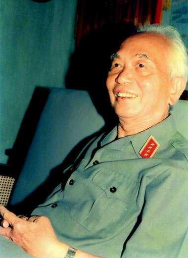 Năm 2010, cán bộ và nhân dân làng Thượng, xã Bảo Lý, huyện Phú Bình (Thái Nguyên) tặng đại tướng bài thơ: