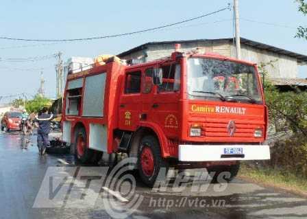 Lực lượng PCCC phải có mặt để dập lửa