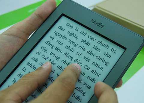 Ebook đang trở thành một xu hướng đọc quen thuộc của người Việt (Ảnh internet mang tính minh họa)