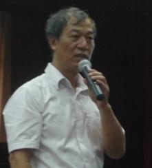 Ông Bùi Minh Tăng, Giám đốc Trung tâm Dự báo Khí tượng Thủy văn Trung ương (Ảnh: Minh Quân)