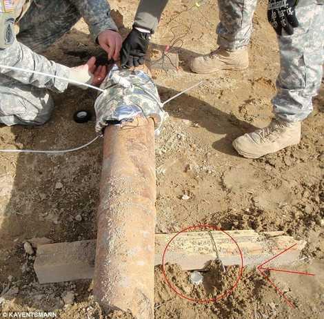 Đặc nhiệm Mỹ thử nghiệm 4,5kg thuốc nổ ở khoảng cách 1m