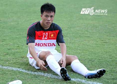 Đội phó U23 Việt Nam, Trần Mạnh Dũng (Ảnh: Quang Minh)