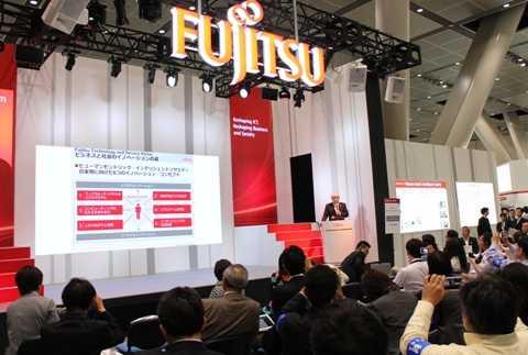 Hãng Fujitsu của Nhật Bản đã trình làng nhiều công nghệ và dịch vụ dựa trên nền tảng Điện toán Đám mây