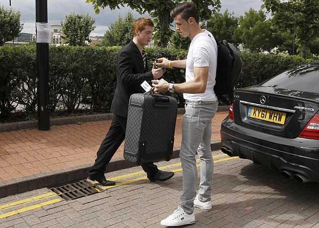 Gareth Bale đã có mặt ở Tây Ban Nha
