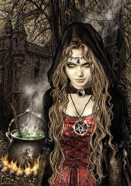 Trong các huyền thoại, phù thủy đã ăn cắp và đùa giỡn với
