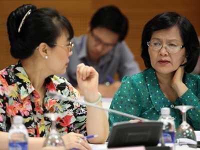 ĐB Trần Thị Quốc Khánh: Luật PCCC đọc lên thấy rất bế tắc. Ảnh: LAD.