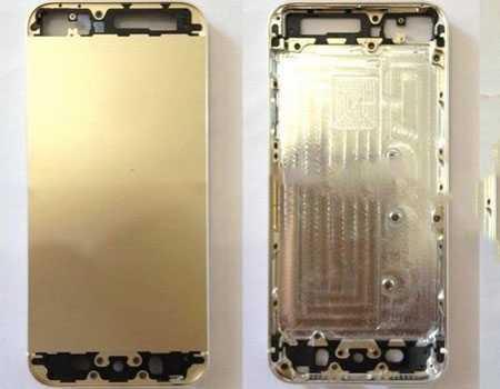 Những hình ảnh rò rỉ về mẫu iPhone 5S màu vàng