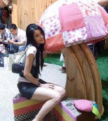 Nữ diễn viên 24 tuổi Lưu Lợi.