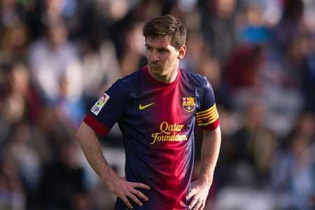 Từ đầu mùa giải đến nay, Messi là cầu thủ thi đấu nhiều trận nhất cho Barca.