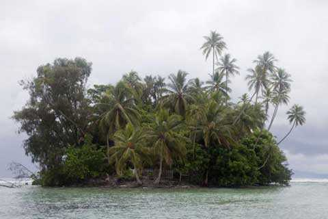 Đảo sọ người Nusa Kunda là một trong những hòn đảo nhỏ nhất nơi đây