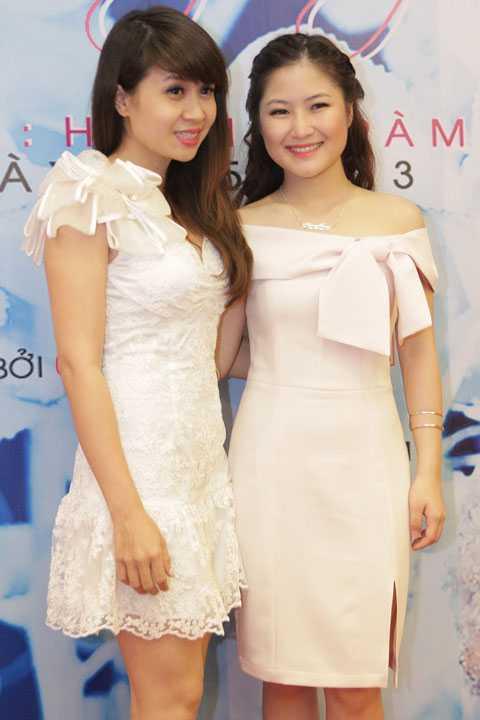 Hương Tràm và nhạc sĩ Lưu Thiên Hương