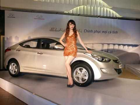 Hyundai Elantra vừa ra mắt tại Việt Nam với giá từ 699 triệu đồng. Ảnh Bobi.