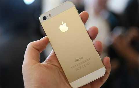 iPhone 5s bản màu vàng vẫn được ưa chuộng hơn cả