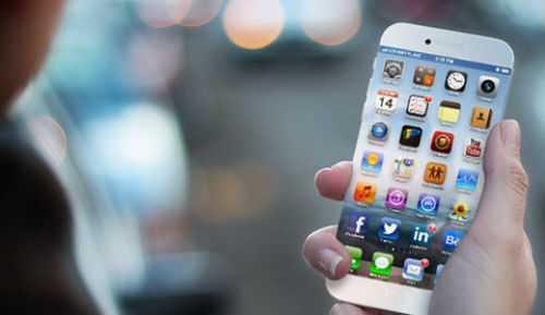 iPhone 6 concept có màn hình