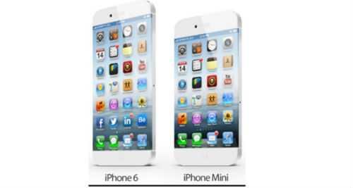 iPhone 6 Mini cũng được phác thảo, nhưng cấu hình không được tiết lộ.