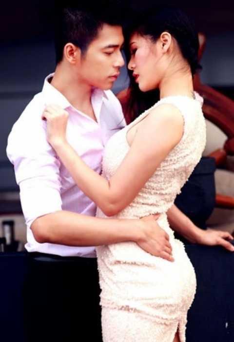Kevin Tuấn Hùng và người tình Michiyo