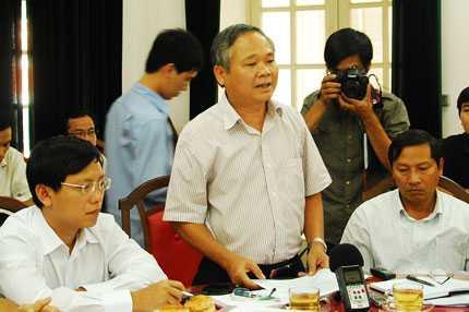Ông Đào Minh Tiến kiến nghị thành phố Đà Nẵng phải có lịch điều tiết nước trong mùa khô