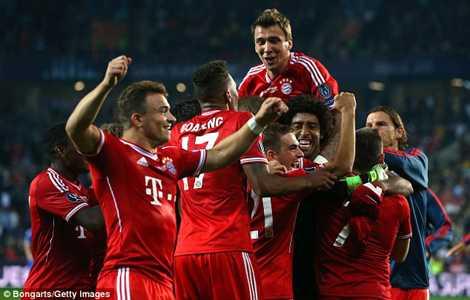 Bayern chiến đấu đến phút cuối cùng để hạ Chelsea.