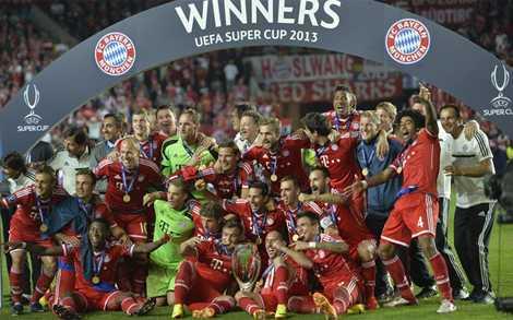 Bayern giành Siêu cúp châu Âu là hoàn toàn xứng đáng.