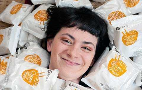 Mỗi năm Georgi ăn hết hàng nghìn gói mỳ
