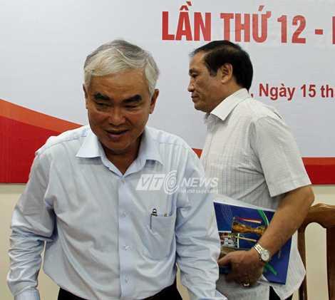Phó chủ tịch VFF Lê Hùng Dũng được kỳ vọng là người thay thế xứng đáng ông Nguyễn Trọng Hỷ. (Ảnh: Quang Minh)