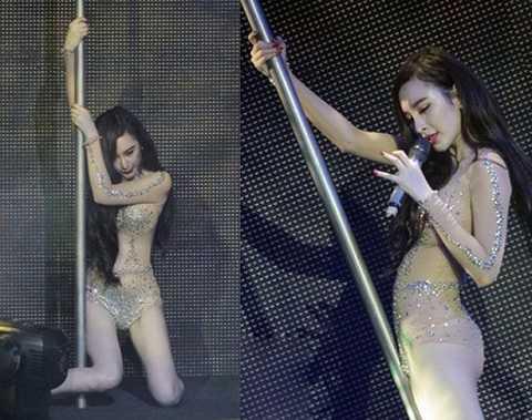 Angela Phương Trinh diễn gây phản cảm.