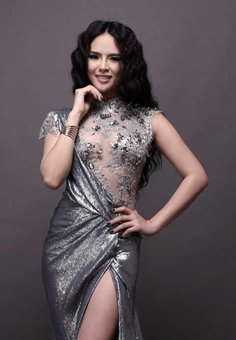 Ngắm người đẹp Hương Thảo trong những bộ trang phục dạ hội tại Miss World
