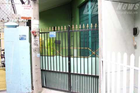 Căn nhà K319/18 Trưng Nữ Vương  (Đà Nẵng) giờ cửa đóng im ỉm.