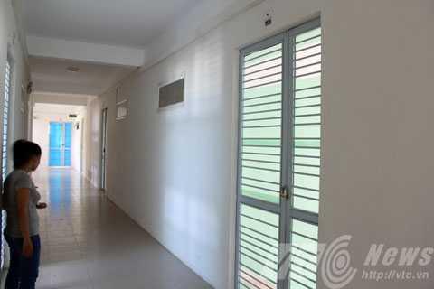 Căn hộ 608, khu 1C, chung cư Phong Bắc, quận Cẩm Lệ được chị Dung xác định là nơi bà Mai và mẹ con Thắm ở sau khi sự việc bị phát lộ.
