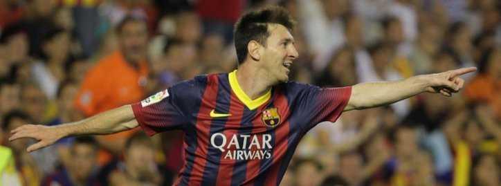 Messi có cú hat-trick đầu tiên ở La Liga 2013/14