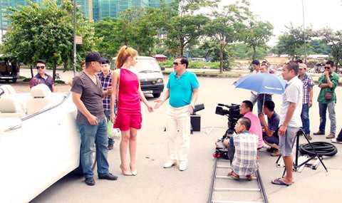 Quang Thắng và Andrea giúp Minh Quân thực hiện MV