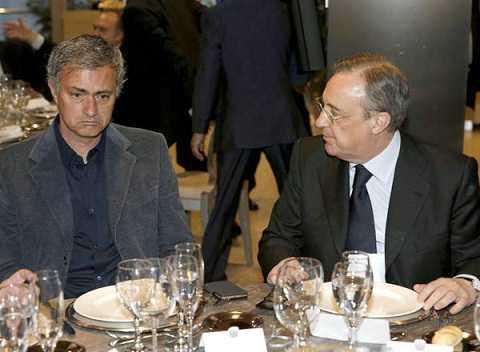 Khi Perez nuông chiều Mourinho
