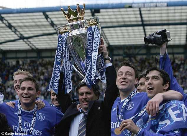 Chelsea thành công rực rỡ dưới thời Mourinho